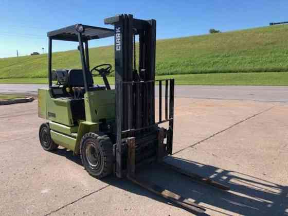 Used Clark GPX25 Forklift Duncan