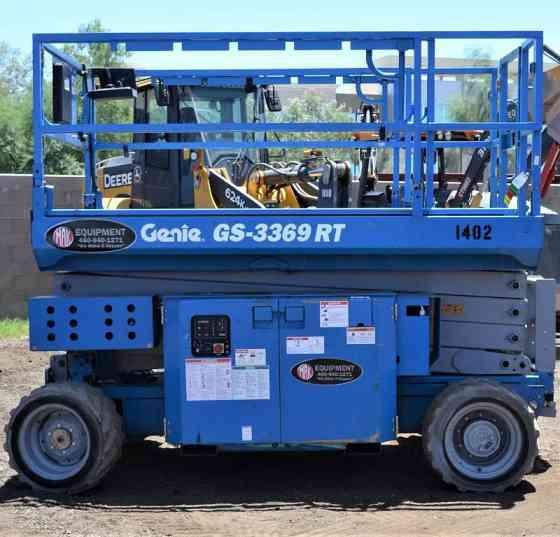 2012 Used GENIE GS3369RT Scissor Lift Chandler