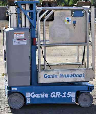 2011 Used GENIE GR15 Personnel Lift Chandler
