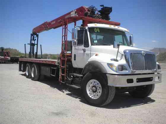 2004 Used INTERNATIONAL 7500 Crane Truck Rillito