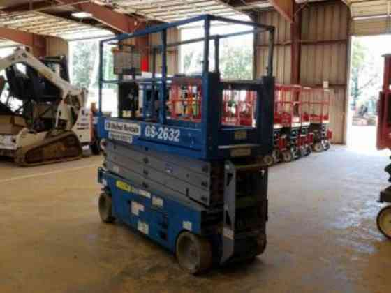2014 Used Genie GS-2632 Scissor Lift Texarkana, Texas