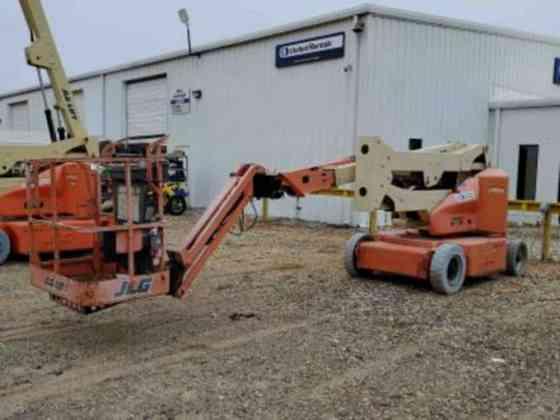 2011 Used JLG E400A Articulated Boom Lift Texarkana, Texas