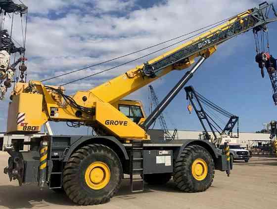 2011 Used Grove RT880E Crane Bristol, Pennsylvania