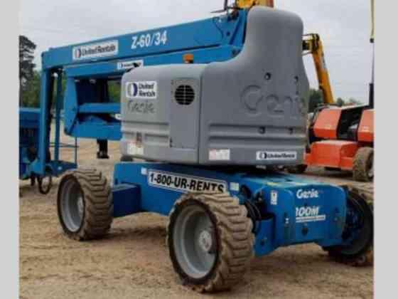2012 Used Genie Z-60/34 Boom Lift Texarkana, Texas