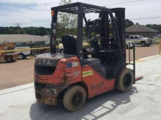 2016 Used Toyota 8FDU25 Forklift Texarkana, Texas