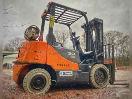 2016 Used Doosan G30E-5 Forklift Texarkana, Texas