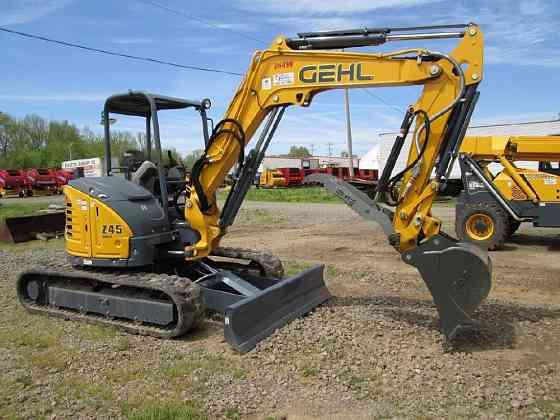 2017 Used GEHL Z45 GEN 2 Mini Excavator Fort Smith
