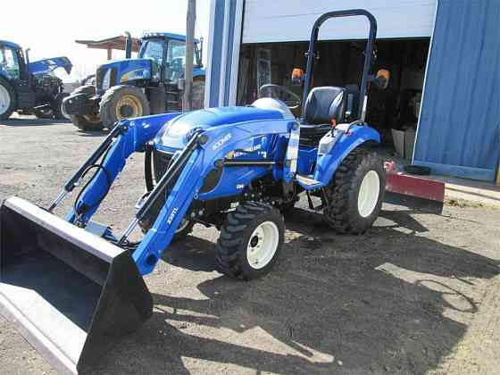 2012 Used NEW HOLLAND BOOMER 25 Compact Tractor Fort Smith