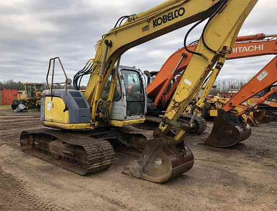 2002 Used KOBELCO SK135SR LC Excavator Montrose
