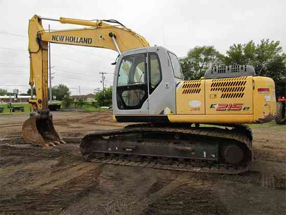 2007 Used NEW HOLLAND E215B Excavator Fort Smith
