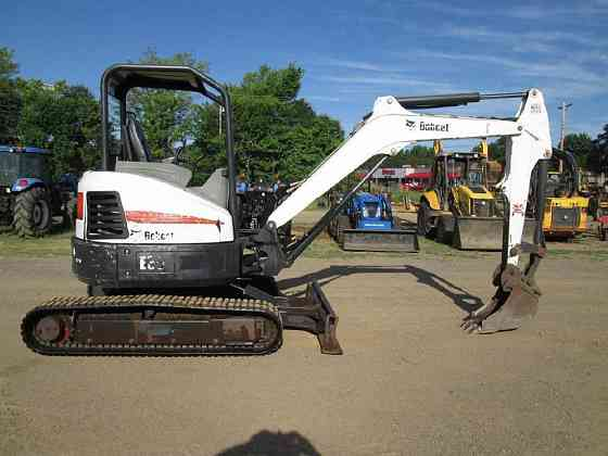 2014 Used BOBCAT E35 Compact Excavator Fort Smith