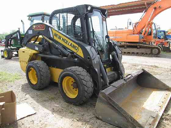 2016 Used NEW HOLLAND L228 Skid Steer Fort Smith
