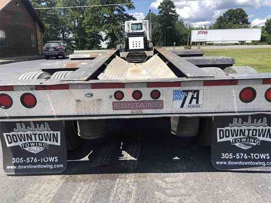 2001 Used FONTAINE 50 TON Lowboy Trailer Hot Springs National Park