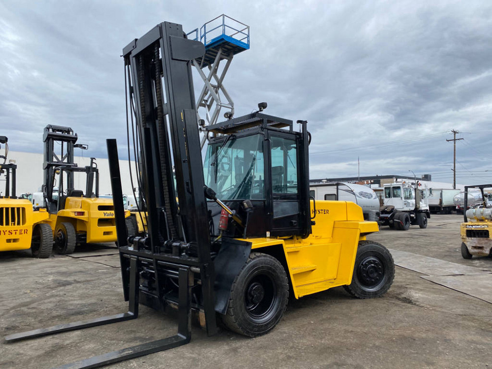 Having Completed Real Forklift Practice