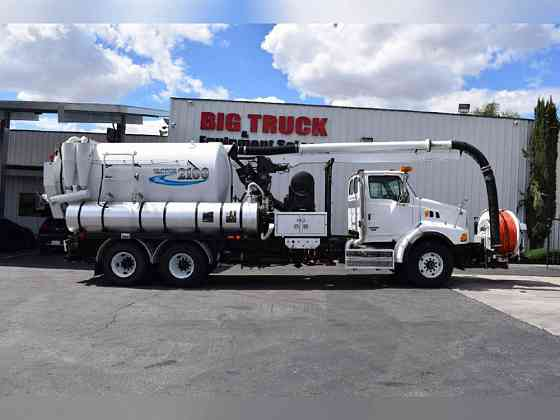 2009 Used VACTOR 2100 Plus Vacuum Truck Fontana