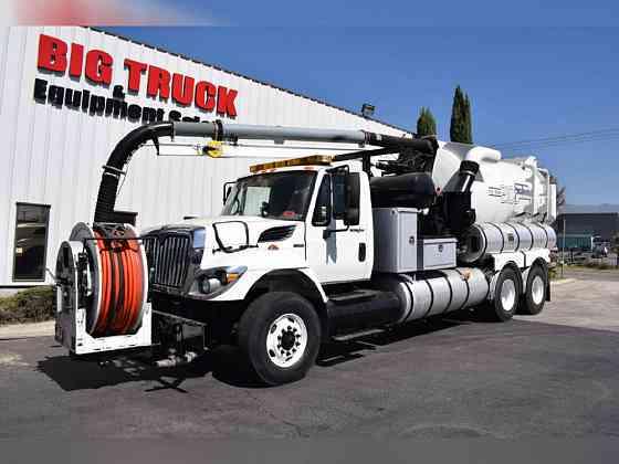 2008 Used INTERNATIONAL Workstar 7400 Vacuum Truck Fontana