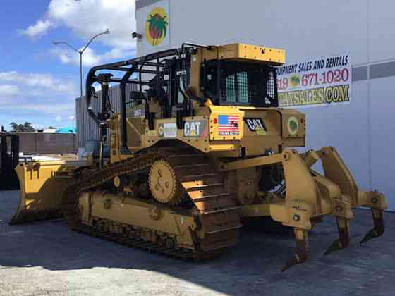 2017 Used Caterpillar D6TXW Dozer San Diego