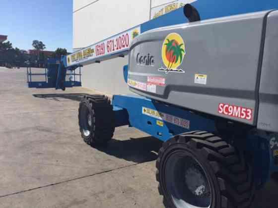 2014 Used Genie S85 Boom Lift San Diego