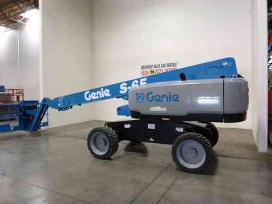 2016 Used Genie S65 Boom Lift San Diego