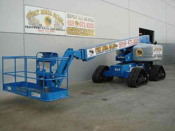 2008 Used Genie S65TRAX Boom Lift San Diego