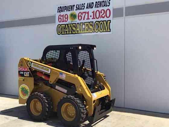 2019 Used Caterpillar 226D Skid Steer San Diego