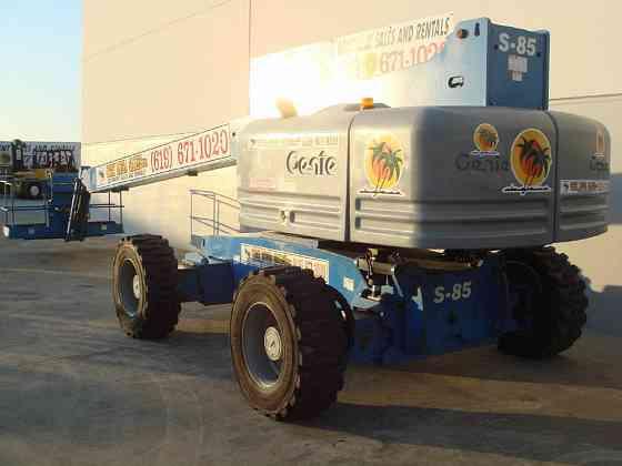 2008 Used Genie S85 Boom Lift San Diego