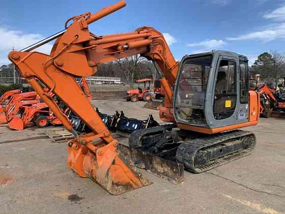 1999 Used HITACHI EX80-5 Excavator Huntsville, Texas