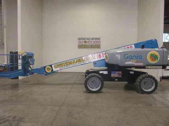 2018 Used Genie S-60X Boom Lift San Diego