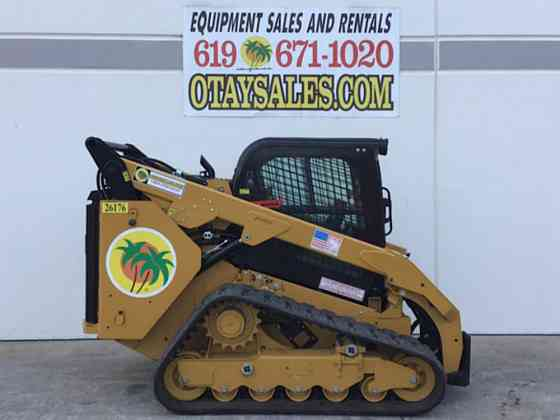 2021 Used Caterpillar 299D3 Skid Steer San Diego