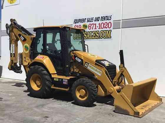 2017 Used Caterpillar 420F2 Backhoe San Diego
