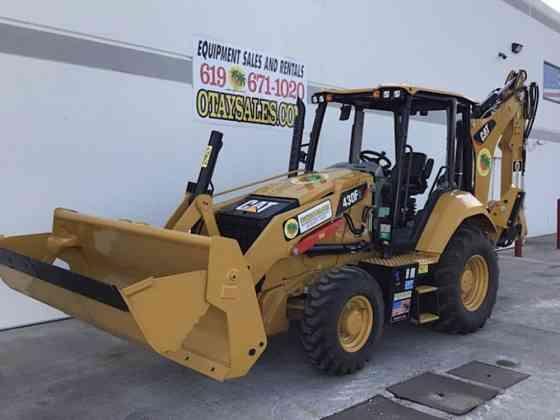 2020 Used Caterpillar 430F2 Backhoe San Diego