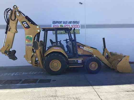 2021 Used Caterpillar 450 Backhoe San Diego
