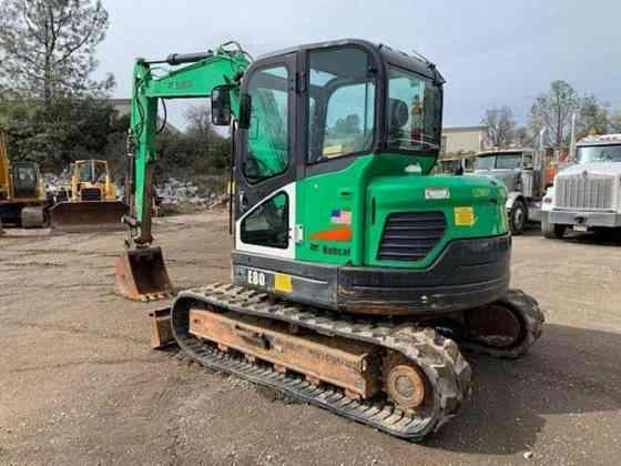 2013 Used Bobcat E80 Excavator Redding
