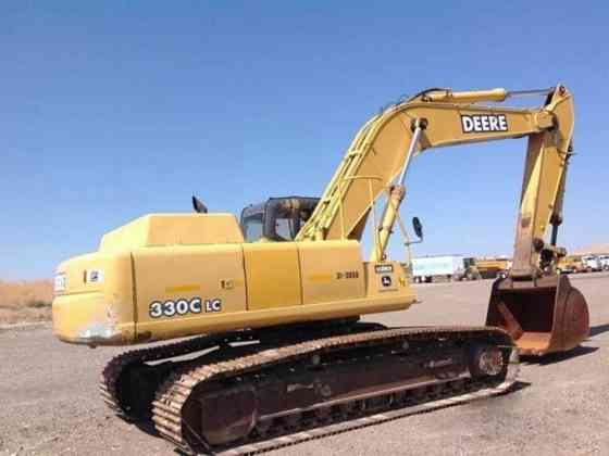 2002 Used John Deere 330C LC Excavator Redding