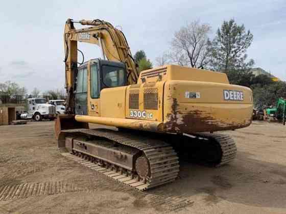 2004 Used John Deere 330C LC Excavator Redding