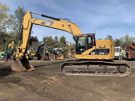 2008 Used Caterpillar 328D LCR Excavator Redding