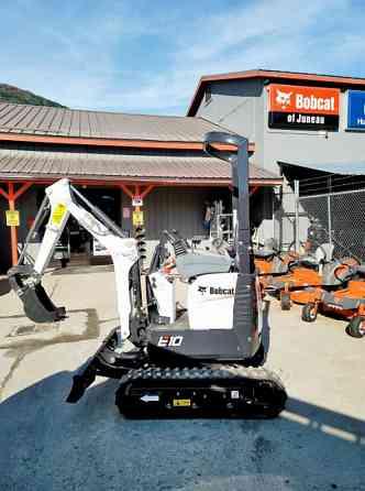 2020 Used Bobcat E10 Compact Excavator Juneau