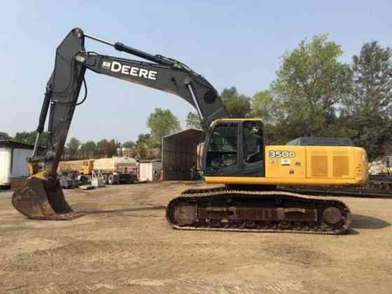 2011 Used John Deere 350D LC Excavator Redding