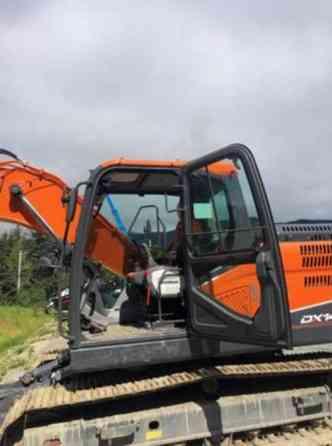 2019 Used Doosan DX140LC-5 (T4) Excavator Juneau