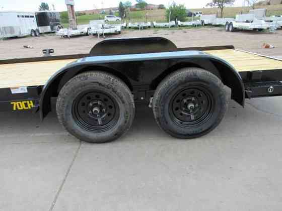 2021 New Big Tex Trailers 70CH-16 Flatbed Trailer Parker