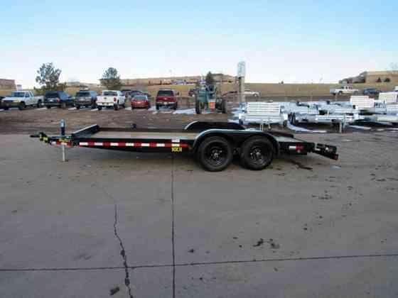 2021 New Big Tex Trailers 10CH-18BKDT Flatbed Trailer Parker