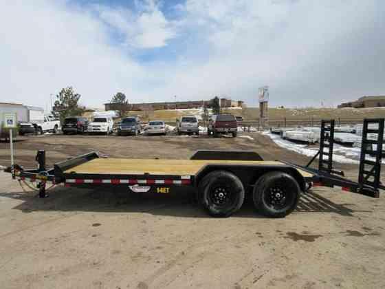2021 New Big Tex Trailers 14ET-18BK-KR Flatbed Trailer Parker