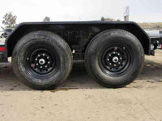 2021 New Big Tex Trailers 14ET-18BK-MR Flatbed Trailer Parker
