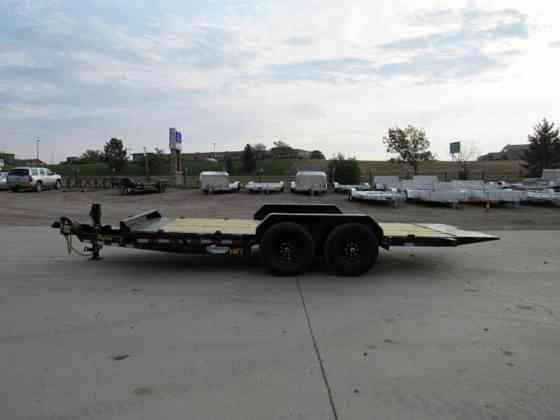 2021 New Big Tex Trailers 14FT-18BK Flatbed Trailer Parker