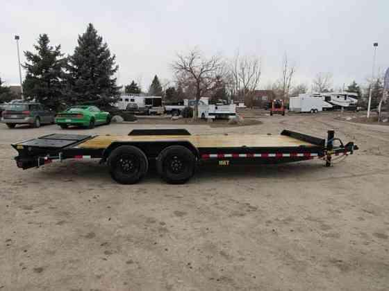 2021 New Big Tex Trailers 16ET-17+3 Flatbed Trailer Parker