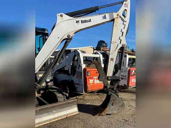 2016 Used Bobcat E50 Excavator East Hartford