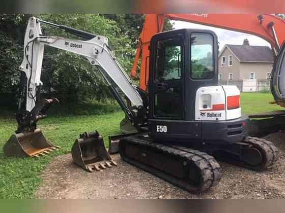 2015 Used Bobcat E50 Long Arm Excavator East Hartford