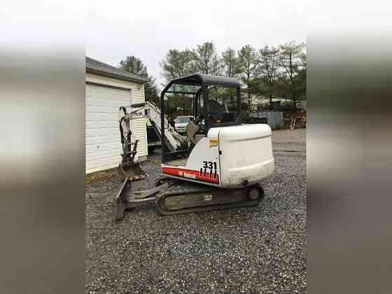 2004 Used Bobcat 331G Mini Excavator East Hartford
