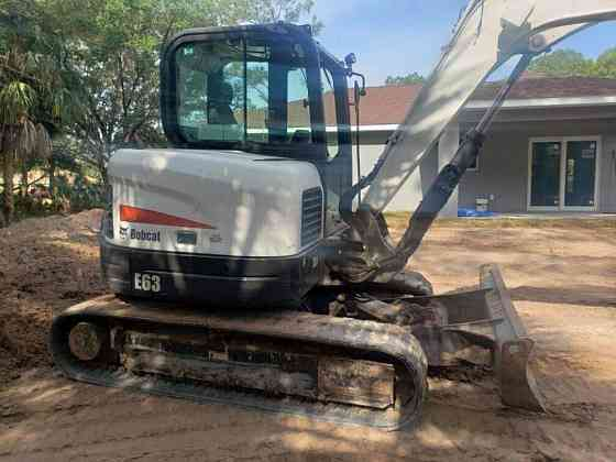 2016 Used Bobcat E63 Excavator East Hartford