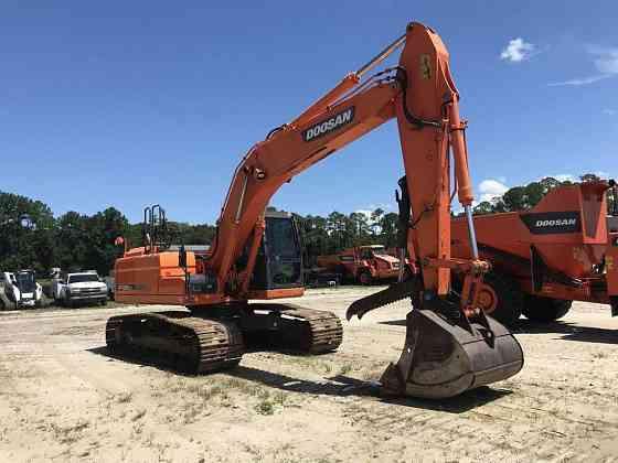 2014 Used Doosan DX255LC-3 Excavator Jacksonville, Florida